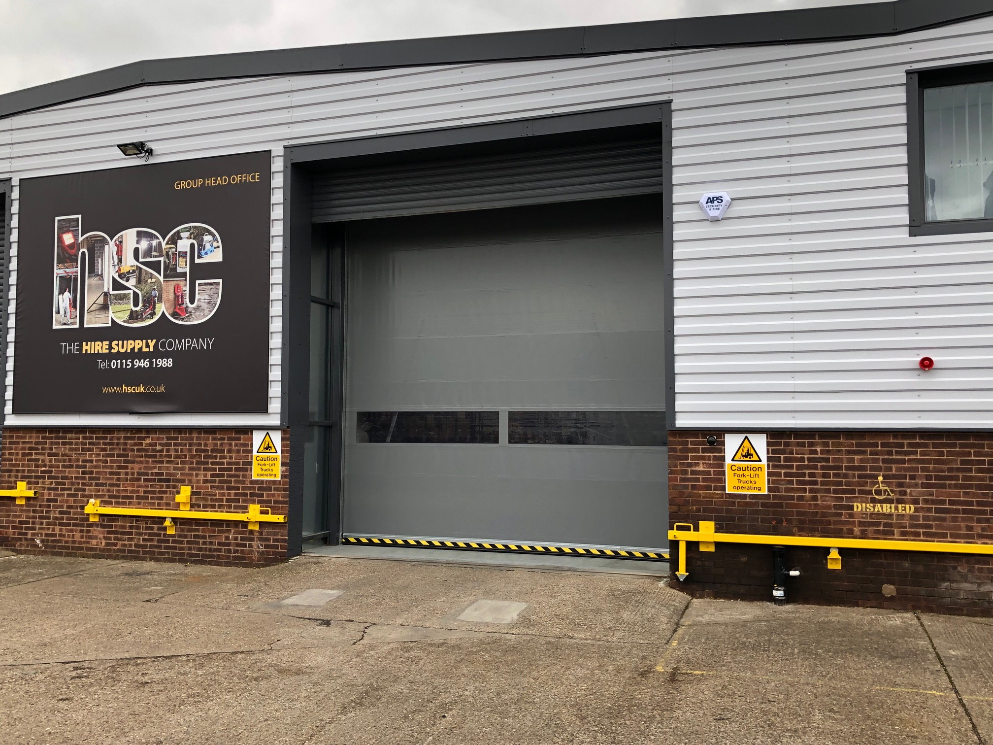 Hire Supply Company Beeston our latest project