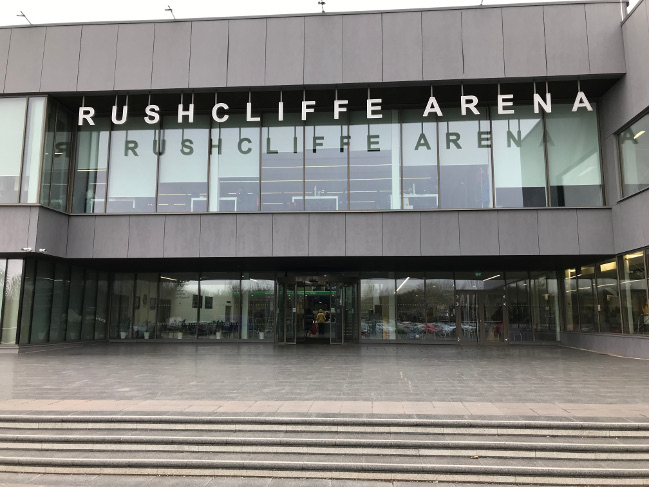 Updated security for Rushcliffe Arena