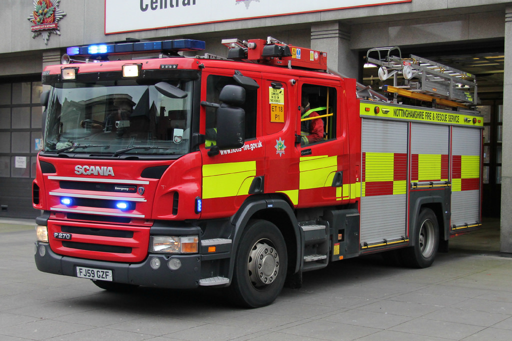 Essential information for clients with Monitored Fire Alarms from Nottinghamshire Fire & Rescue