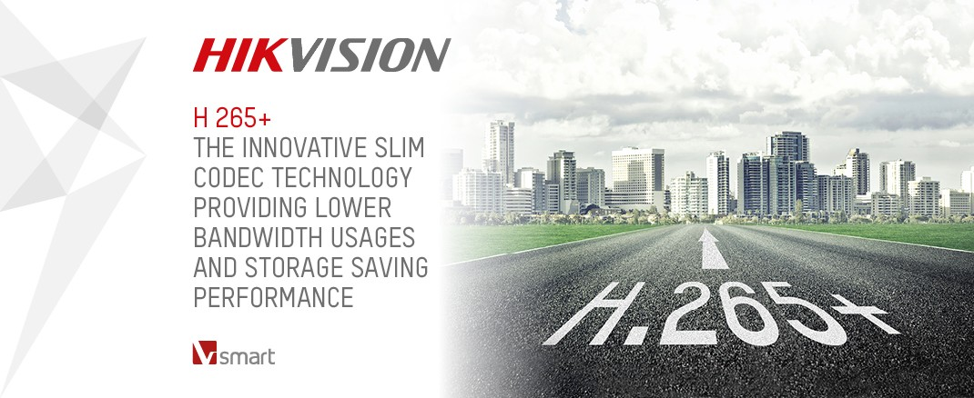 APS are now installing Hikvision CCTV with H 265+ streaming