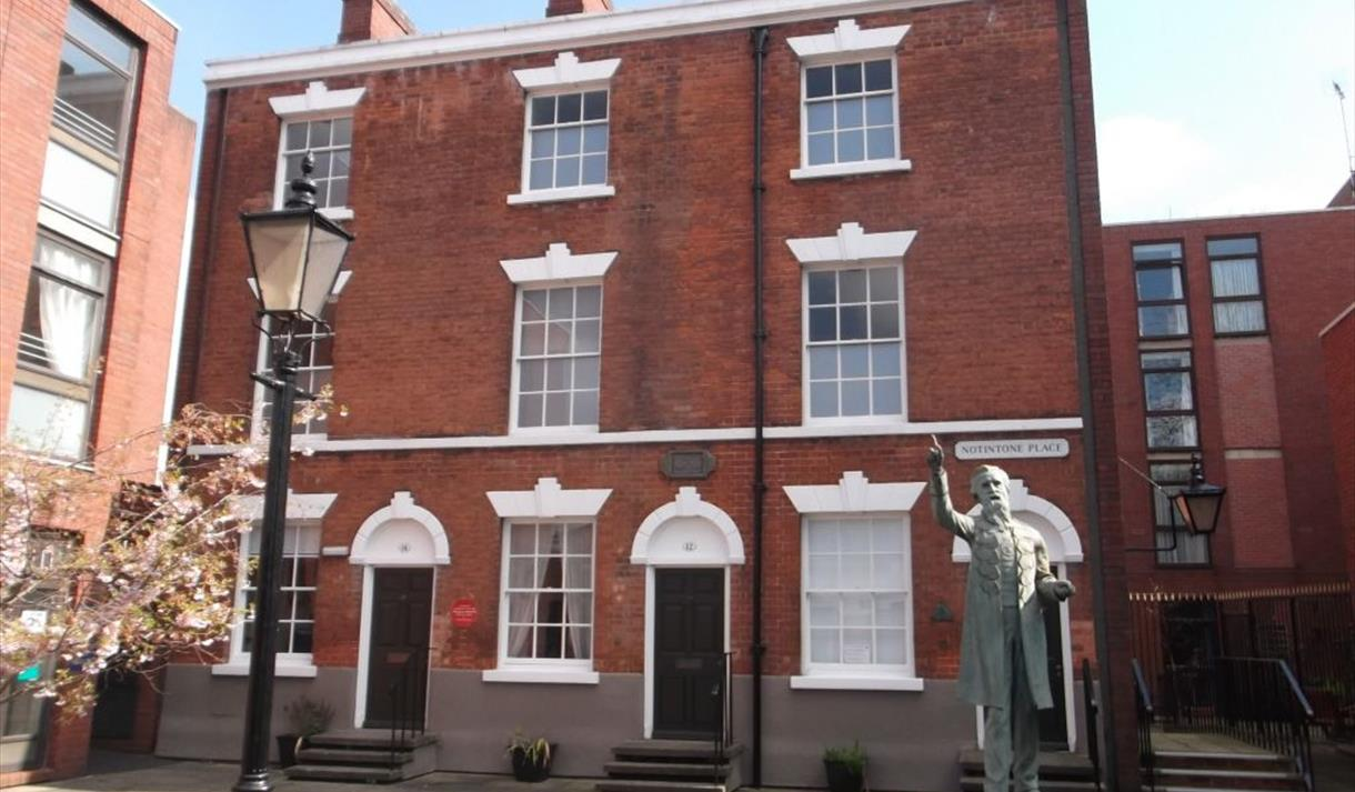 APS provide the fire and security systems for the William Booth Birthplace Museum in Nottingham